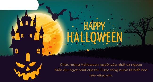 Mới lạ mẫu thiệp mừng Halloween độc đáo dành cho bạn bè và người thân 3