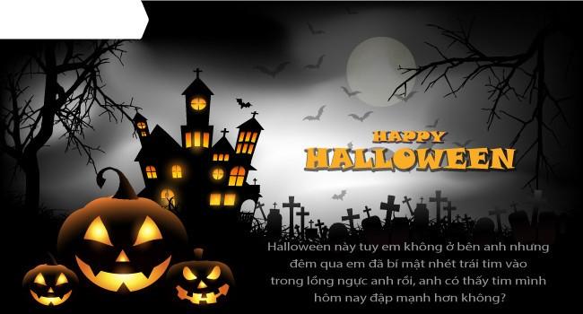 Mới lạ mẫu thiệp mừng Halloween độc đáo dành cho bạn bè và người thân 2
