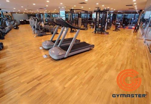 Các loại sàn thường được sử dụng trong phòng Gym