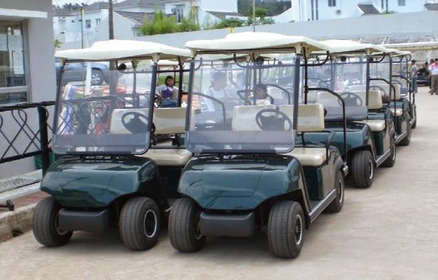 Có nên mua xe điện sân golf- xe điện chở khách
