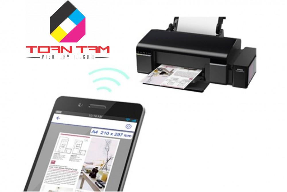 Máy in Epson L805 wifi giải pháp in đa dụng