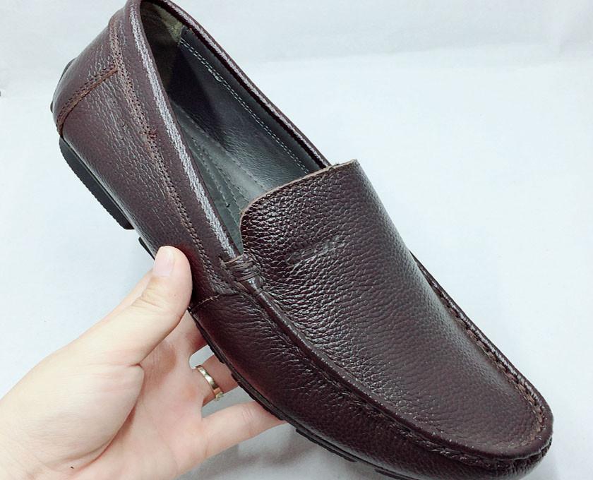 Mẹo nhận biết giày da nam thật giả(4)