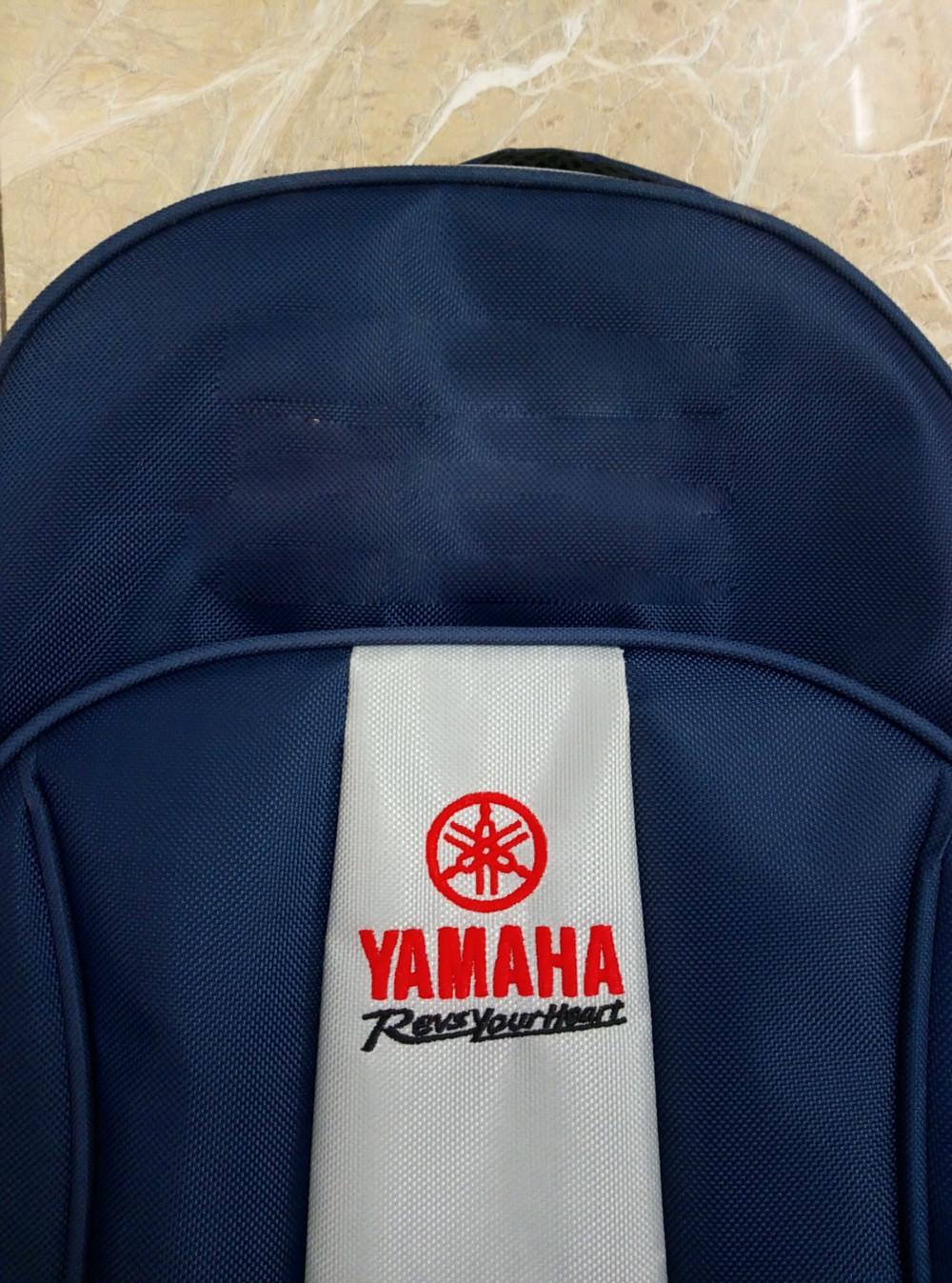 Sản xuất balo quảng cáo giá rẻ - balo quảng cáo cho Yamaha Town