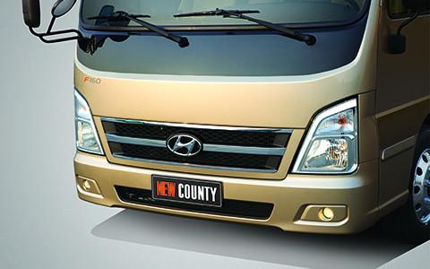 New County 29 chỗ, xe County chính hãng Hyundai 2018