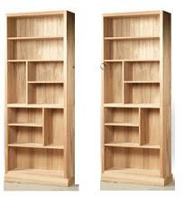Mẫu thiết kế kệ gỗ ngăn phòng khách đẹp phong cách hiện đại