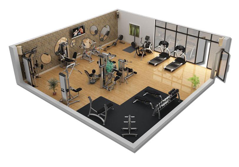 Chi phí lắp đặt phòng gym bao nhiêu là phù hợp?