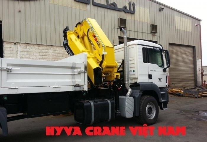 Cẩu gập Hyva giải pháp cho nâng hạ, bốc xếp và cứu hộ giao thông(1)