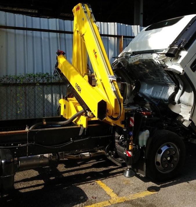 Cẩu gập Hyva giải pháp cho nâng hạ, bốc xếp và cứu hộ giao thông(4)