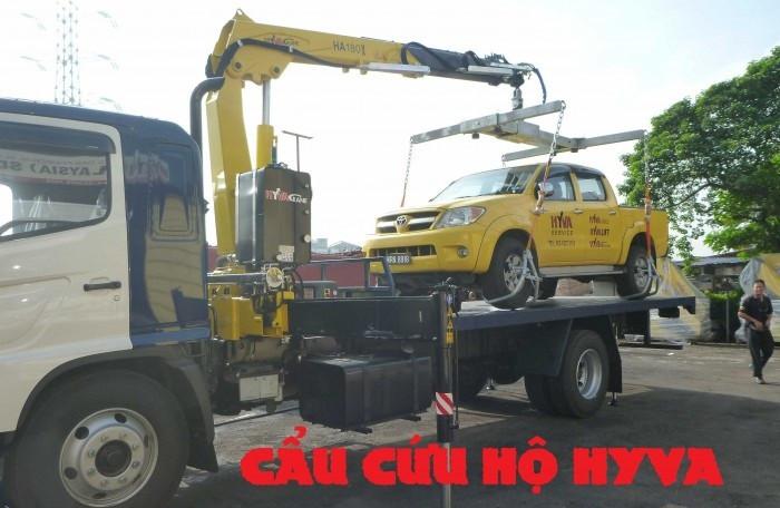 Cẩu gập Hyva giải pháp cho nâng hạ, bốc xếp và cứu hộ giao thông(6)
