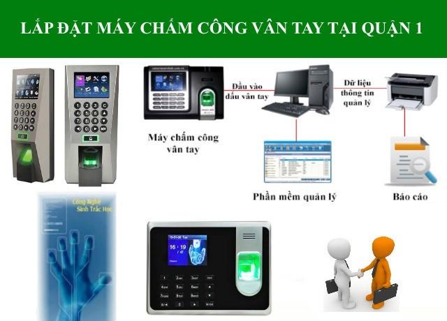 Phân phối máy chấm công vân tay tại Quận 1 tp Hồ Chí Minh