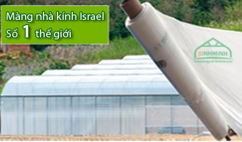 Kinh doanh màng nhà kính Israel, màng nhà kính nông nghiệp giá rẻ