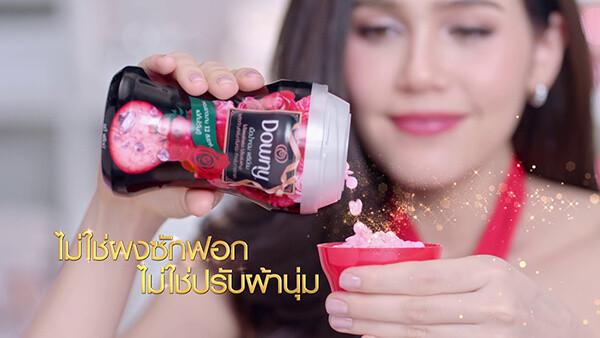 Viên xả vải khô Downy Thái Lan giúp lưu hương thơm trên quần áo