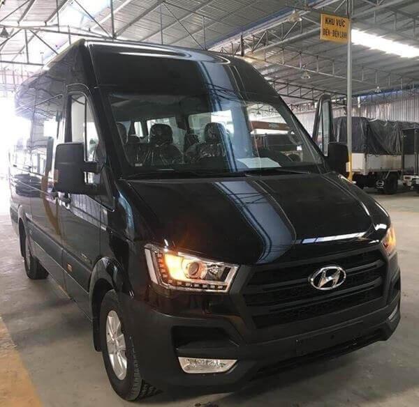 Thông số trang bị ngoại thất xe 16 chỗ Hyundai Solati 2018