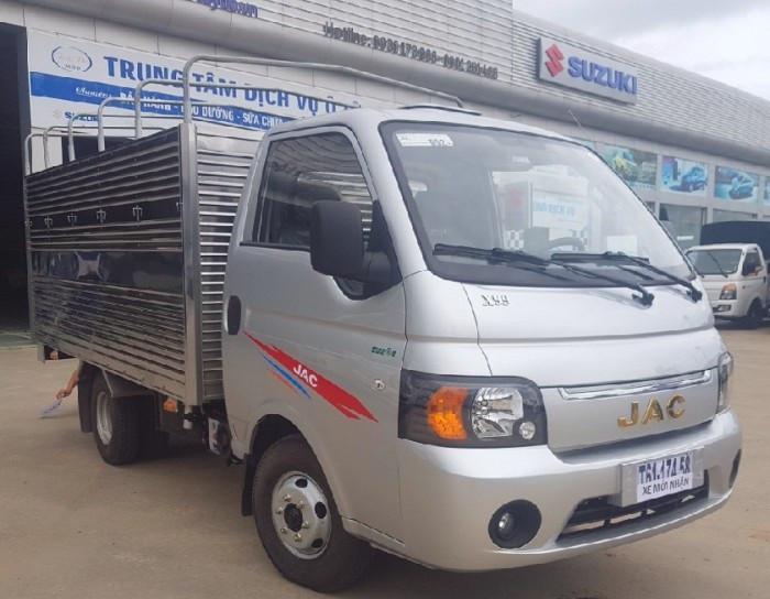 Đánh giá chi tiết xe tải Jac X5 990kg (1)