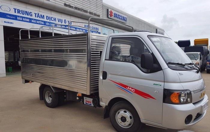 Đánh giá chi tiết xe tải Jac X5 990kg (2)