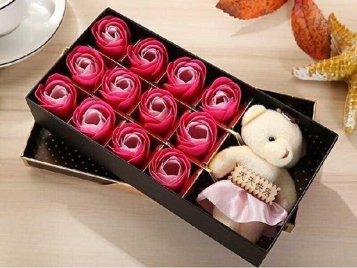 Hoa hồng sáp thơm, món quà cho tình yêu ngọt ngào