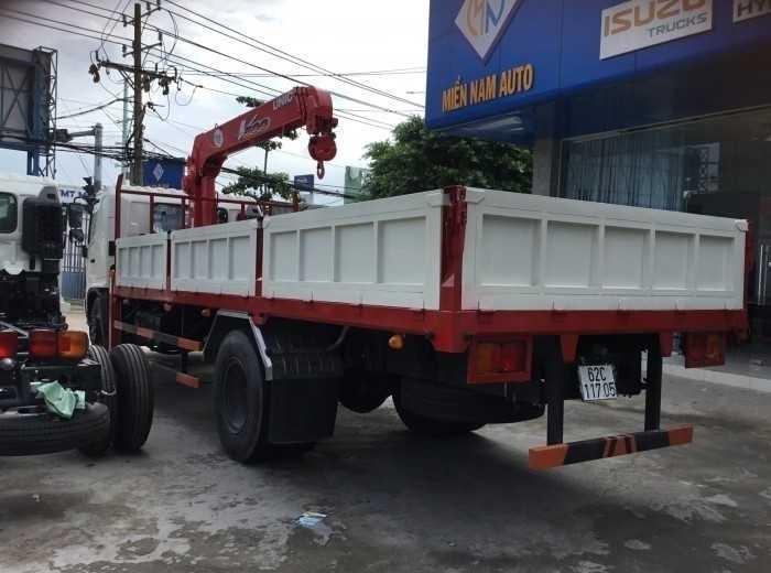 Lý do nên mua xe tải gắn cẩu hino 8 tấn