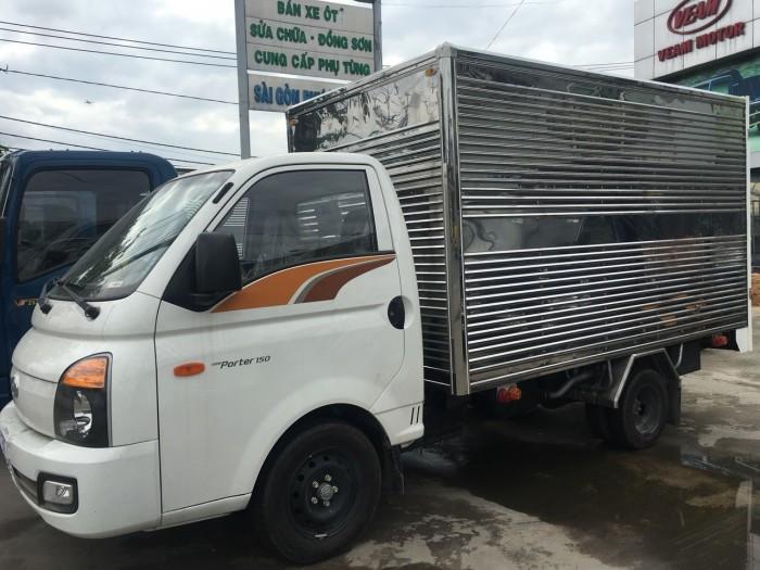 Chi tiết thông số kỹ thuật xe tải Hyundai Porter H150(1)