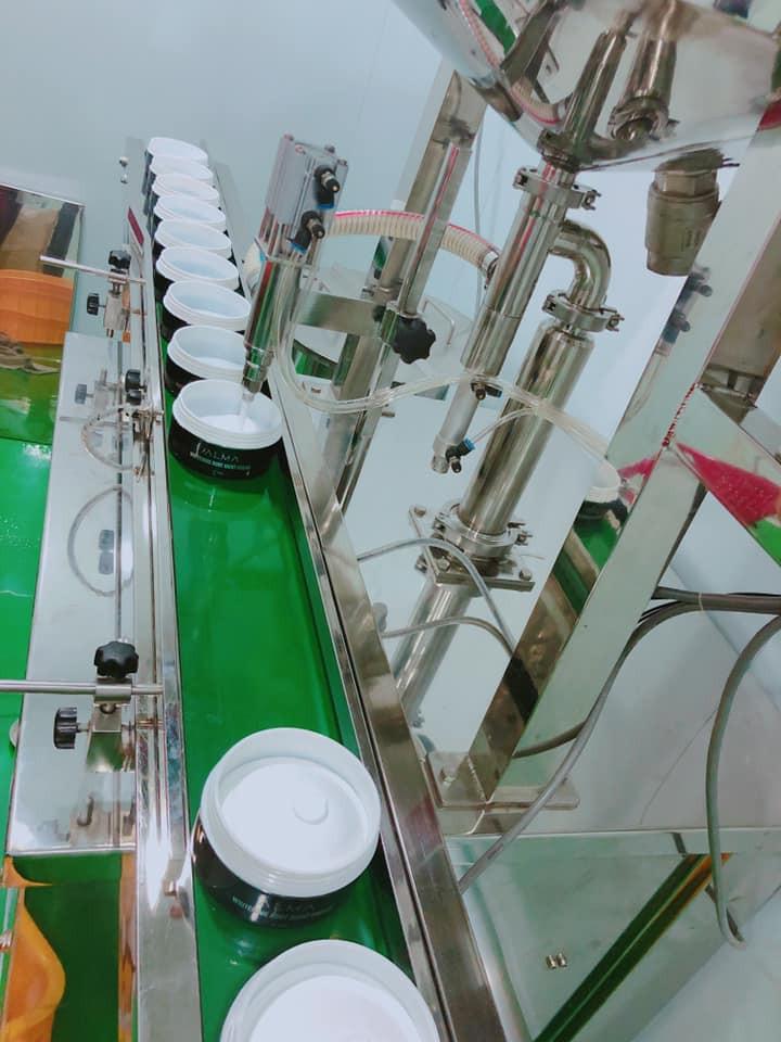 Quy trình sản xuất mỹ phẩm Herby - Alma tại nhà máy