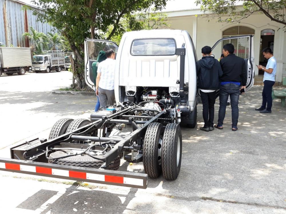 chassi xe tải 1.25 tấn jac