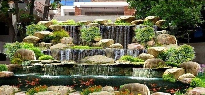 Nguyên tắc thiết kế cảnh quan sân vườn