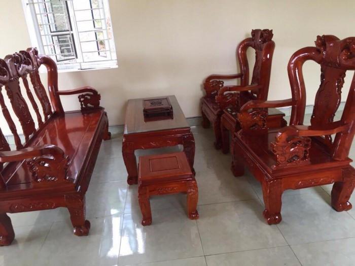 Mẫu bàn ghế phòng khách Minh Quốc Đào gỗ xoan ta(1)
