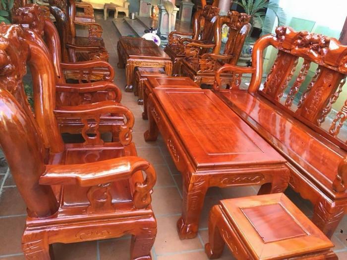 Mẫu bàn ghế phòng khách Minh Quốc Đào gỗ xoan ta(5)