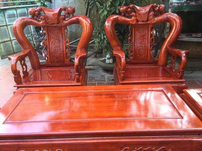 Mẫu bàn ghế phòng khách Minh Quốc Đào gỗ xoan ta(9)