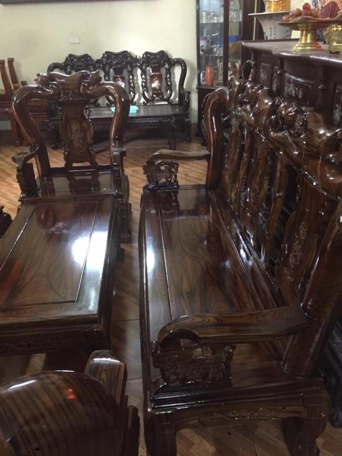 Mẫu bàn ghế phòng khách Minh Quốc Đào gỗ xoan ta(16)