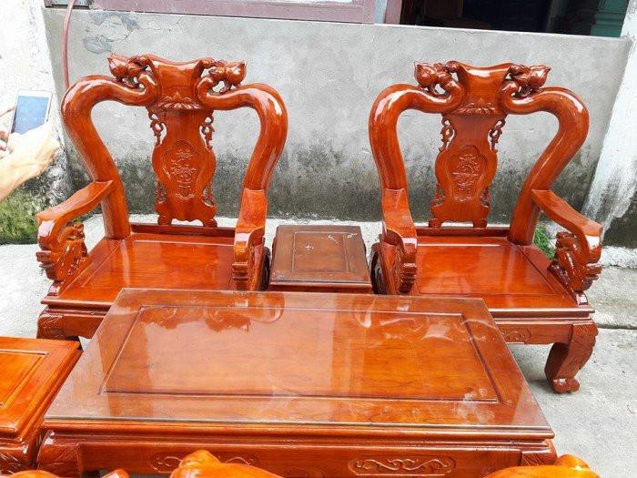 Mẫu bàn ghế phòng khách Minh Quốc Đào gỗ xoan ta(12)