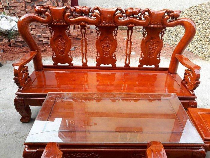 Mẫu bàn ghế phòng khách Minh Quốc Đào gỗ xoan ta(13)