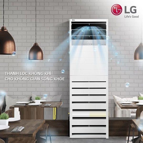 Lắp đặt máy lạnh tủ đứng LG Inverter giá ưu đãi