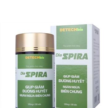 Dia Spira giúp làm giảm và ổn định đường huyết