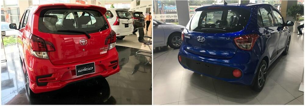So sánh Toyota Wigo và Hyundai Grand i10 về động cơ và trang bị an toàn