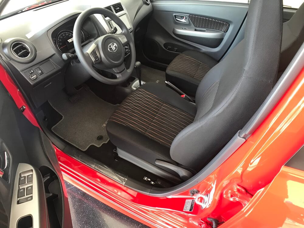 xe Toyota Wigo 2018