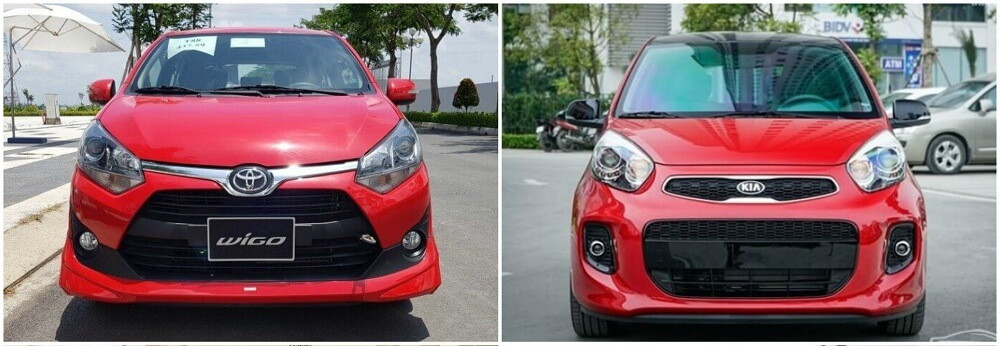 So sánh Toyota Wigo và Kia Morning