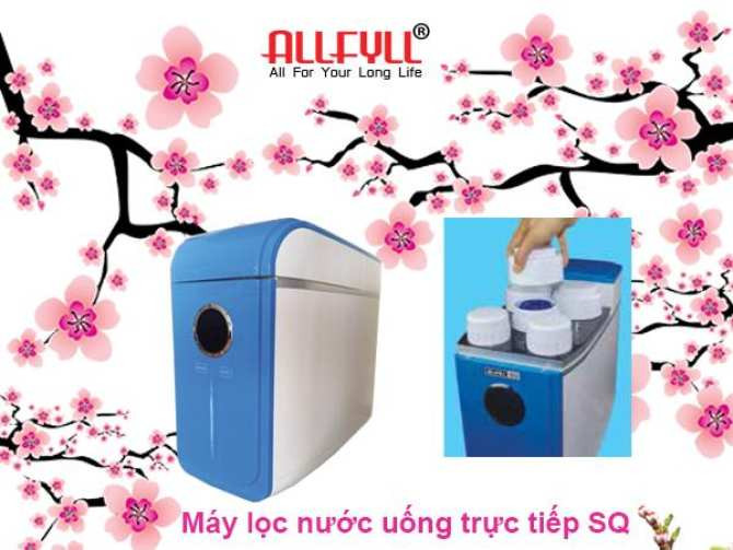 Tính năng máy lọc nước uống trực tiếp thương hiệu Allfyll đến từ Thái Lan Model SQ(1)