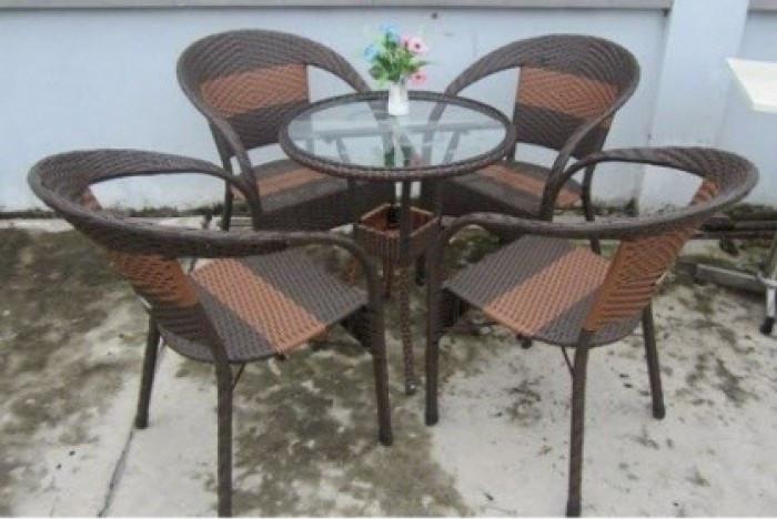 Mẫu bàn ghế giả mây đẹp(2)