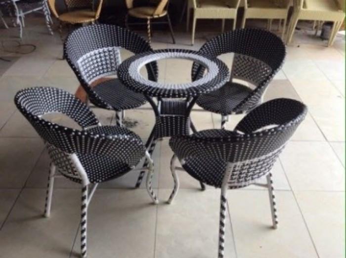 Mẫu bàn ghế giả mây đẹp(4)