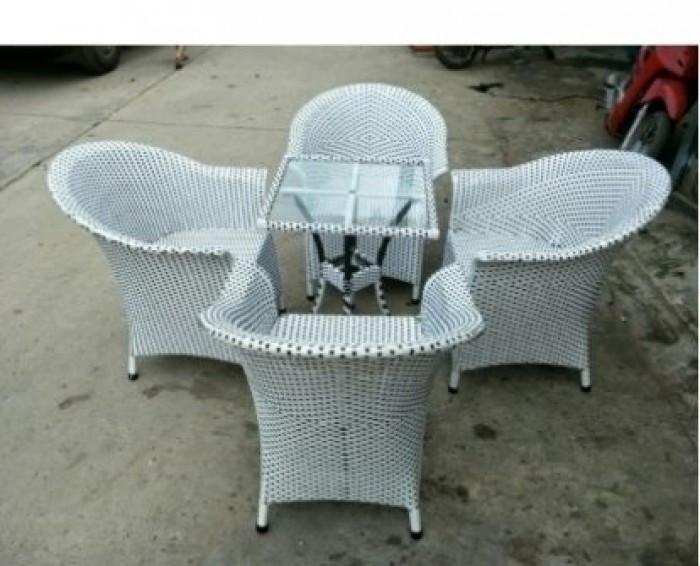 Mẫu bàn ghế giả mây đẹp(8)