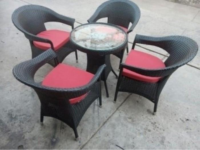 Mẫu bàn ghế giả mây đẹp(11)
