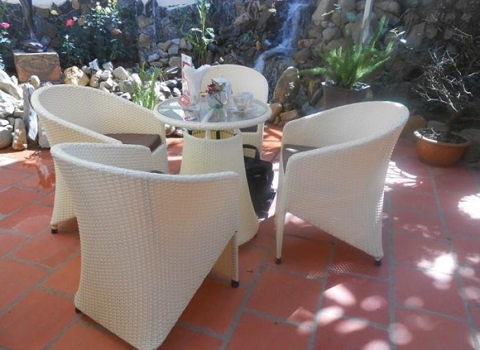Tại sao nên chọn mua bàn ghế nhựa giả mây(2)