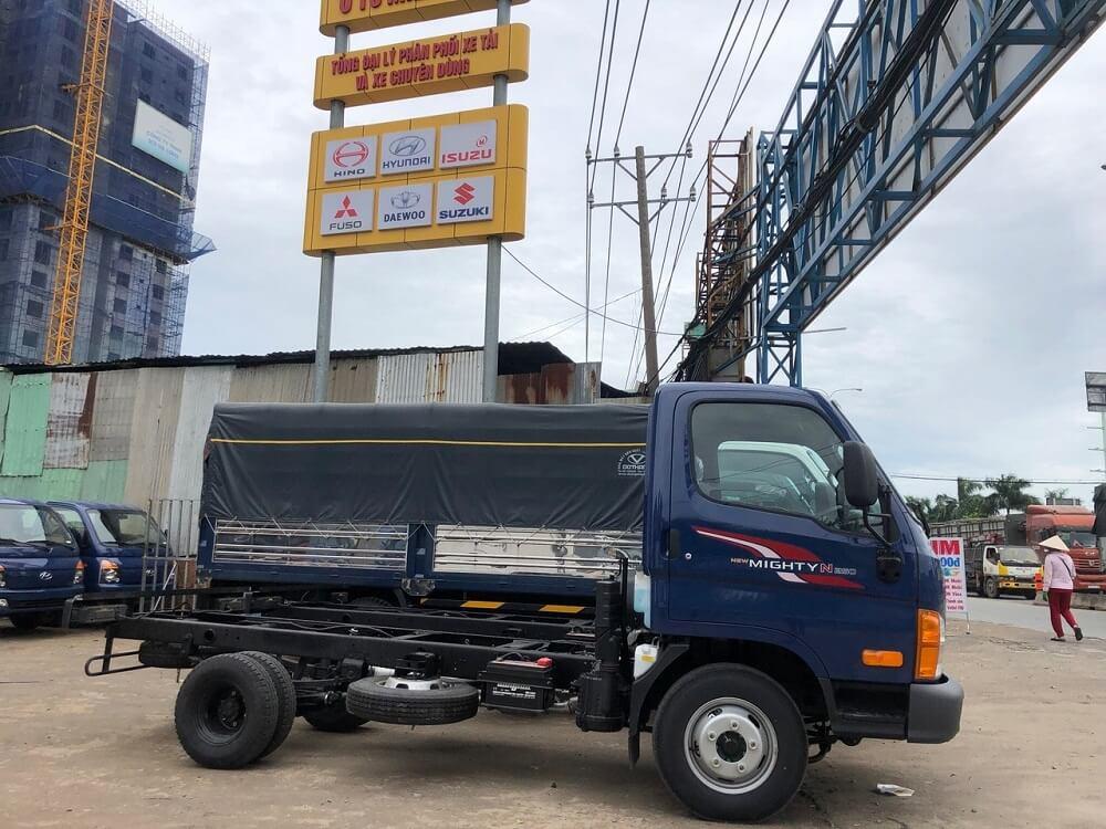 Tìm hiểu chi tiết lãi suất mua trả góp xe tải Hyundai N250 hiện nay