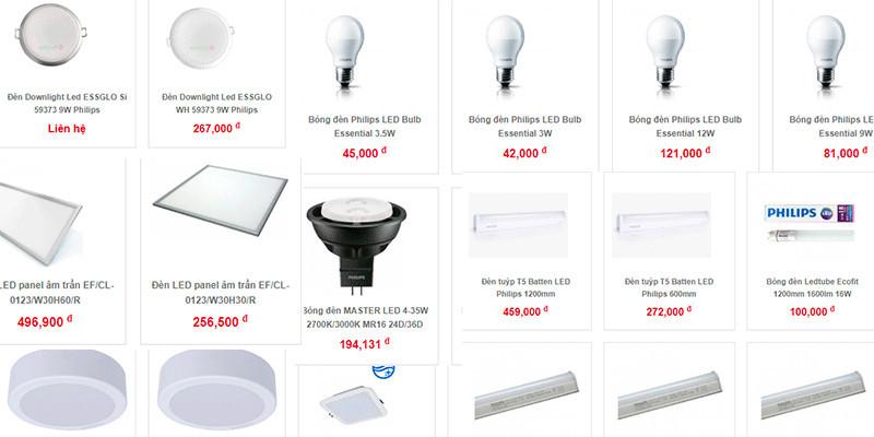 Đèn chiếu sáng dân dụng - Công ty cổ phần Elmart