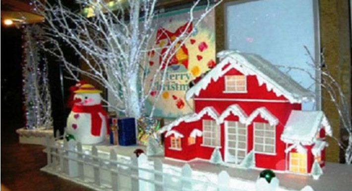 Ý tưởng trang trí Giáng Sinh độc đáo cho quán cafe 20