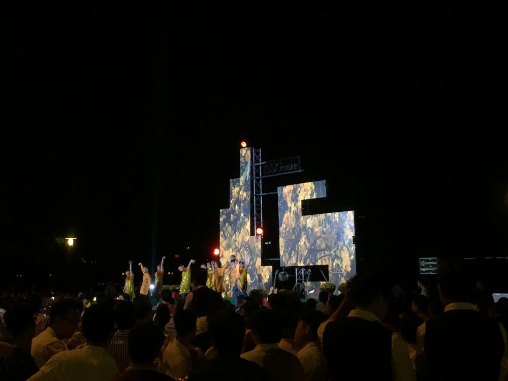 Cho thuê màn hình Led sân khấu chương trình tất niên SSG Group tại Saigon Pearl