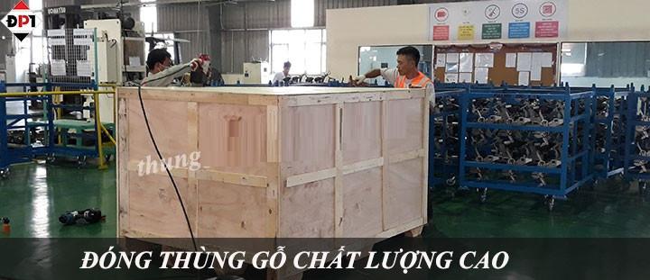 Đóng thùng gỗ cho hàng hóa xuất khẩu tại Hà Nội