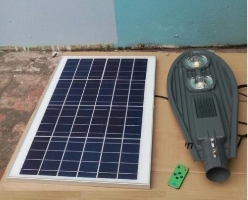 Đèn đường led năng lượng mặt trời 100w