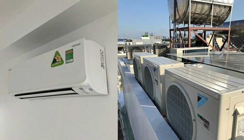 Máy lạnh Daikin Multi S - Dàn lạnh treo tường Daiki Inverter