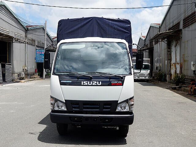 Giá xe tải Isuzu 1.4 tấn thùng mui bạt(1)